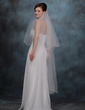 One-tier Waltz Bridal Veils With Scalloped Edge (006020465)