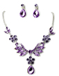 Beautiful Alloy/Rhinestones Ladies' Jewelry Sets (011017096)