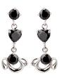 Shining Alloy/Cubic Zirconia Ladies' Earrings (011036722)