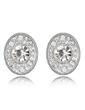 Elegant Alloy/Crystal Ladies' Earrings (011037007)