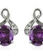Beautiful Alloy/Cubic Zirconia Ladies' Earrings (011036683)