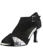 Women's Sparkling Glitter Nubuck Heels Sandals Latin With Buckle Dance Shoes (053056031)