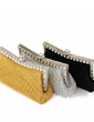 Gorgeous Satin With Beading/Rhinestone Clutches (012005462)