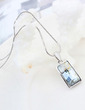 Charming Platinum Plated With Crystal Ladies' Necklaces (011055361)
