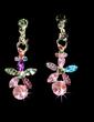 Flower Shaped Alloy/Rhinestones Women's Jewelry Sets (011028384)