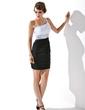 Kılıf Tek-Omuzlu Kısa/Mini Chiffon Mezunlar Gecesi Elbisesi Ile Büzgü Boncuklama (022010530)