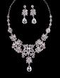 Elegant Alloy With Rhinestone Ladies' Jewelry Sets (011029096)