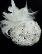 Stylish Rhinestone/Imitation Pearls/Feather/Lace Fascinators (042026316)