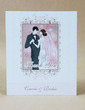 Personalized Bride And Groom Hard Card Paper Thank You Cards (Set of 50) (118029387)