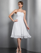 A-Line/Princess Sweetheart Knee-Length Chiffon Homecoming Dress With Ruffle (022014808)