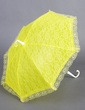 Charming Terylene/Lace Wedding Umbrellas With Embroidery (124037473)