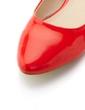 Leatherette Flat Heel Flats Closed Toe shoes (086039755)
