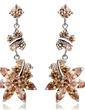 Chic Alloy With CZ Cubic Zirconia Women's Fashion Earrings (011036697)