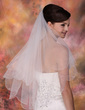 Two-tier Elbow Bridal Veils With Beaded Edge (006013289)
