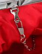 Gorgeous Silk/Chiffon With Rhinestone Clutches (012028263)