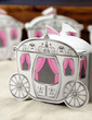 Enchanted Carriage Cuboid Favor Boxes (Set of 12) (050005513)