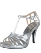 Leatherette Cone Heel Sandals Platform Slingbacks With Buckle shoes (087028457)