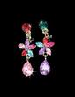 Flower Shaped Alloy/Rhinestones Ladies' Jewelry Sets (011028379)