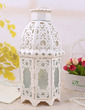 Delicate Flower Vine Glass/Iron Candle Lantern (131039199)