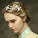 Fashion Rhinestone/Imitation Pearls Headbands