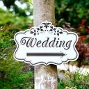 KT Board Wedding Direction Sign