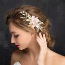 Bayan Güzel Yapay elmas/Alaşım/Ipek Çiçek Combs ve Tokalarım