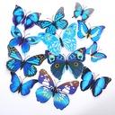 3D/DIY Sticker PVC Butterfly/Decorative Accessories (set of 12)