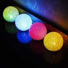 Cambia Colore Palla Luci a LED (Set di 4)
