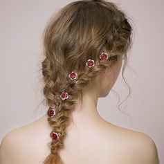 Elegant Rhinestone/Alloy/Aluminum Hairpins (Sold in single piece)