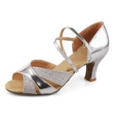 Leatherette Heels Sandals Latin Ballroom Dance Shoes