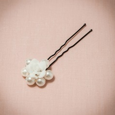 Gorgeous/Lovely Imitation Pearls/Polymer Clay Hairpins (Sold in single piece)