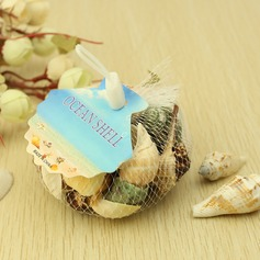 Beach Theme Seashell Decorative Accessories (40 Pieces)