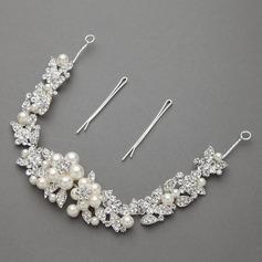 Gorgeous Alloy/Imitation Pearls Headbands