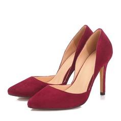 Femmes Vrai cuir Talon stiletto Escarpins chaussures