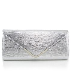 Delicate PU With Metal Clutches