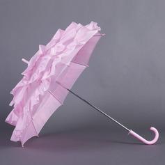 Růžový Terylene Deštníky