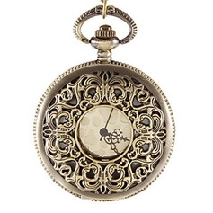 Floral Design Pocket Watch