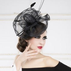 Elegant Feather/Cambric Fascinators/Headbands