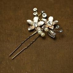 Beautiful Rhinestone Hairpins (Sold in single piece)