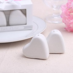 Non-personalized Attractive Ceramic Salt & Pepper Shakers (2 Pieces)