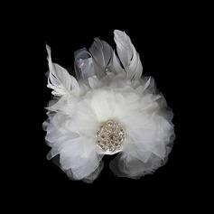 Kaunis Tekojalokivi Sulka Kukat