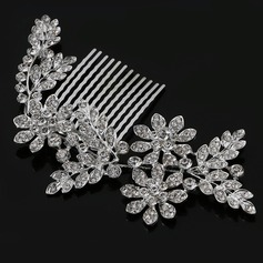Shining Rhinestone/Alloy Combs & Barrettes
