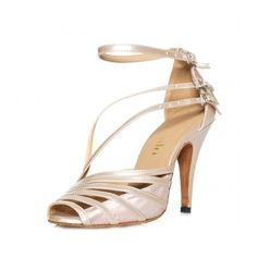 Donna Similpelle Tacchi Sandalo Latino con Fibbia Scarpe da ballo