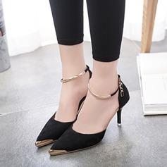 Femmes Similicuir Talon stiletto Escarpins avec Paillette chaussures