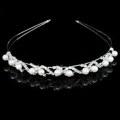 Gorgeous Alloy Pearl Headbands