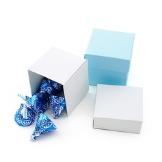 Simple Cubic Favor Boxes (Set of 24)