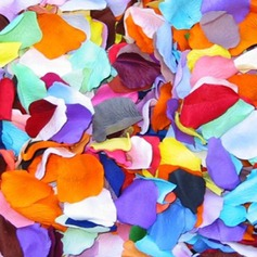 Multi-color Rose Silk Petals (set of 12 packs) (More Colors)