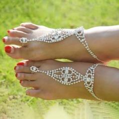Strass Alloy Bijoux Pied Accessoires