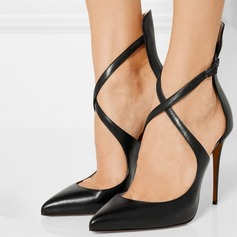 Women's Leatherette Stiletto Heel Sandals shoes