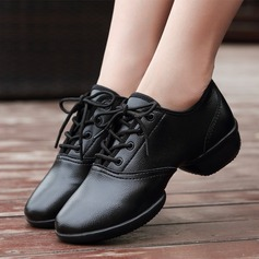 Women's Leatherette Sneakers Modern Sneakers Dance Shoes